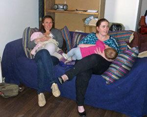 Borstvoedingscafé bij het Haags Borstvoedingscentrum